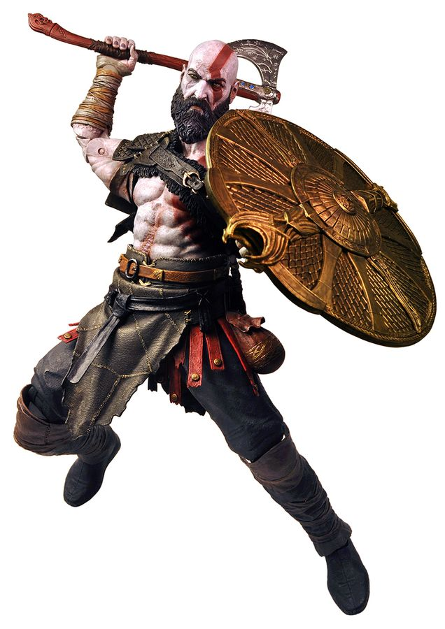"God of War Kratos 7/"" Action Figure-NEC49323 2018"